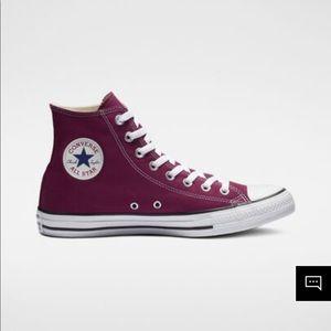 Maroon Converse Women's Size 6